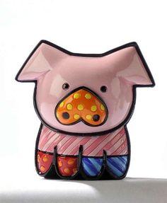 "Miniature Pig ""Pearl"" Figurine By Romero Britto by romero britto, http://www.amazon.com/dp/B004TA0YNA/ref=cm_sw_r_pi_dp_z.zNqb1EJ4RRC"