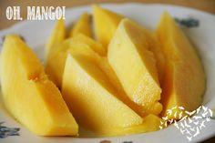 Mara entdeckte Mango für sich (wieder).