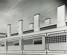 aqqindex:  Carlo Mollino, Untitled, 1940   Torino horse riding club, 1937-40