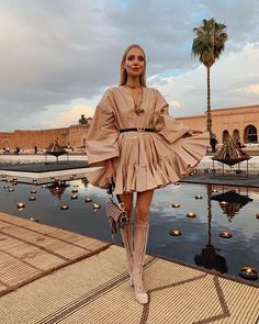 Palais El badi with Leonie Hanne, DiorCommenGround, Dior and Valentine's Day Outfit, Outfit Of The Day, Classy Outfits, Stylish Outfits, Leonie Hanne, Fashion 2020, Fashion Today, Who What Wear, Designer