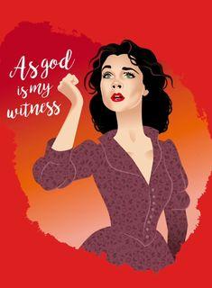 Alejandro Mogollo Art Scarlett O'Hara Gone With the Wind