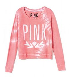 Wide Neck Crew from Victoria's Secret. Saved to Epic Wishlist. Victoria Secret Sweatpants, Victoria's Secret, Pink Flip Flops, Future Fashion, Lounge Wear, Victoria Secret Pink, Cute Outfits, Leather Jacket, Style Inspiration