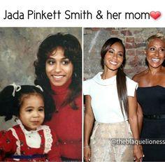 Jada Pinkett Smith & Her Mom. Black Power, Black Girls Rock, Black Girl Magic, Black Families, Jada Pinkett Smith, Black Pride, My Black Is Beautiful, Black Women Art, Before Us