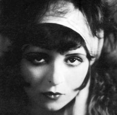 Clara Bow starred as a flapper in dozens of movies in the 1920s. Description from femthreads.com. I searched for this on bing.com/images