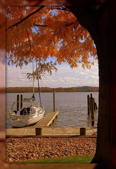 Boating on a FALL DAY...