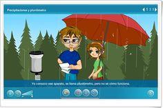 """""""Precipitaciones y pluviómetro"""" (Ciencias Sociales de Primaria)"""