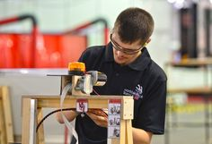 Day 3 of competitions: Chris Renwick - Manufacturing Team Challeneg
