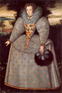 Reinette: English Portraits from 1540-1630: Elizabeth Buxton,1588-90