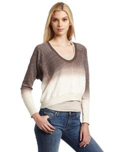 Splendid Women's Boxy Seam Sweatshirt, Desert Suede, Medium Splendid. $39.69. Dolman sleeve. Ombre. 71% Cotton/29% Polyester; Rib Contrast: 96% Cotton/4% Spandex. Hand Wash. Made in USA