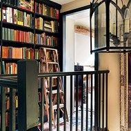 Landing Bookcase - Emma Burns' Converted Stable Block