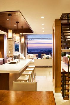 The Strand - contemporary - kitchen - los angeles - KKC Fine Homes