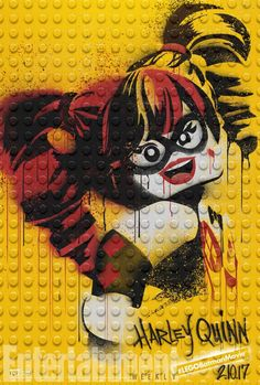 Harley Quinn will appear in #LEGOBatmanMovie!