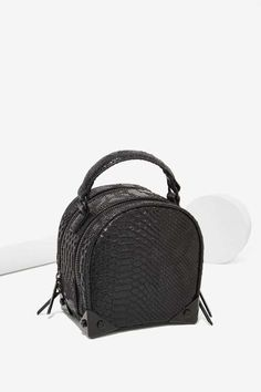5f1cc7fe2a Factory Croc Stalker Vegan Leather Crossbody Bag Leather Purses
