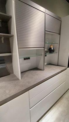 Kitchen Pantry Design, Luxury Kitchen Design, Diy Kitchen Storage, Home Decor Kitchen, Interior Design Living Room, Living Room Designs, Home Room Design, Home Design Plans, Home Decor Furniture