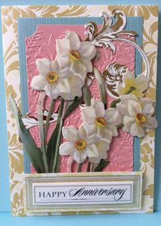 2014 Anna Griffin Garden Window card making kit purchased from HSN.
