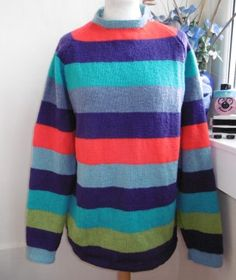 d2bca9461399 Superstripe Hand knitted unique design you will not see anywhere else but   bexknitwear.com