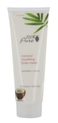 100% Pure Organic Moisturizing Body Lotion, Virgin Coconut , 8 oz by 100 Percent Pure. Obsessed with the wonderful smell!