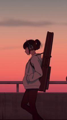 Girl musician, guitar, anime girl, sunset, art wallpaper – My CMS Anime Scenery Wallpaper, Cartoon Wallpaper, Iphone Wallpaper, Sunset Wallpaper, Cute Anime Wallpaper, Wallpaper Art, Power Wallpaper, Batman Wallpaper, Wallpaper Quotes