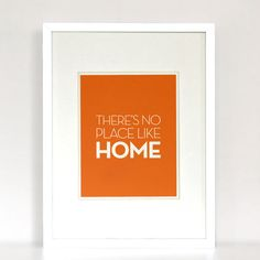 No Place Like Home  Quote Poster by avintageposter on Etsy, $12.00