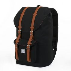 Herschel Supply Co. Little America, Black, One Size  - Click image twice - See a larger selection of little girls backpacks at http://kidsbackpackstore.com/product-category/little-girls-backpack/ - kids, juniors, back to school, kids fashion ideas, school supplies, backpack, bag , teenagers, girls, boys, gift ideas