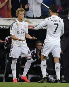 Martin Odegaard replaces Cristiano Ronaldo in a La Liga clash against Getafe