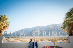 Ryan+Veronica, Engagement pictures, Palm Springs Visitors Center, Palm Springs Engagement session, Palm springs photographer, Miramonte wedding, bride and groom, Palm Springs sign,