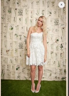 I want a short wedding dress