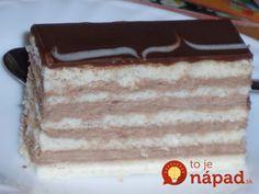 Czech Recipes, Ethnic Recipes, Eclairs, Tiramisu, Food And Drink, Health Fitness, Sweets, Baking, Desserts