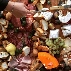 The Charcuterie Board Must Be The Coolest Wedding Idea For 2016 ~ we ❤ this! moncheribridals.com