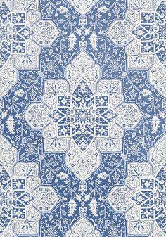 TARRAGON, Blue, T64121, Collection Caravan from Thibaut