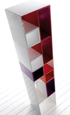 Domino libreria modulare in metallo