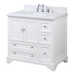 Charlton Home Bodaway Single Bathroom Vanity Set 36 Inch Bathroom Vanity, 36 Inch Vanity, Bathroom Vanities, Master Bathroom, Small Bathroom Cabinets, Bathroom Furniture, Furniture Decor, Modern Furniture, Vanity Cabinet