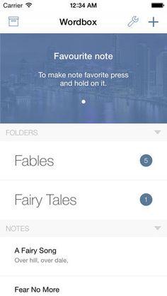 Wordbox - Simple Beautiful Text Editor (via AppCrawlr)