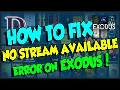 YES!! KODI 'NO STREAM AVAILABLE' FIX HOW TO!! 2016!! - YouTube