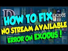 YES!! KODI 'NO STREAM AVAILABLE' FIX HOW TO!! 2016!! - YouTube