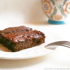 brownie vegano facil Chocolate Sin Gluten, Healthy Desserts, Meatloaf, Steak, Food, Cacao, Natural, Diabetes, Mug Brownie Recipes