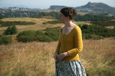 Kate Davies has created another stunning design: Braid Hills.  Such a lovely, feminine silhouette!