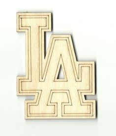 Los Angeles Unfinished Laser Cut Wood Shape SPT468
