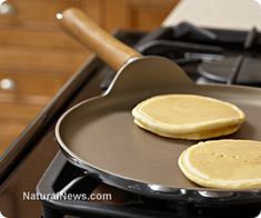 Learn to make delicious, gluten-free buckwheat pancakes with this recipe. Awesome website for health news, too!  Note:  Buckwheat is not wheat. It has an odd grayish color that you might need to get past. It's super healthy! This batter was way too thin. Decrease the milk by at least 1/2 next time.