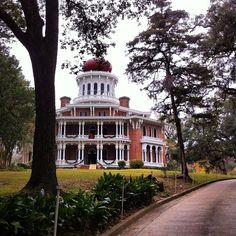 Natches, Mississippi.  Another getaway close to home. My favorite...Longwood. cyn