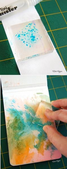Image via We Heart It https://weheartit.com/entry/91087938/via/8461306 #colors #diy #Easy #glass #pretty #tutorial #watercolortutorial