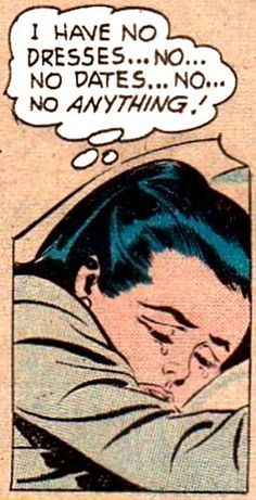 Found a vintage comic strip that describes MY LIFE
