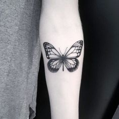 Butterfly Tattoo - Browse the newest tattoo designs Sun Tattoos, Trendy Tattoos, Forearm Tattoos, Love Tattoos, Beautiful Tattoos, Body Art Tattoos, Small Tattoos, Girl Tattoos, Tattoos For Guys