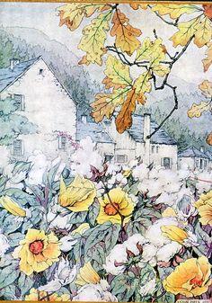 Anton Pieck uit: Het zaad ontkiemt. door: Margaret Mitchell.