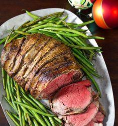Crockpot Recipes: Beef Recipes : Crock-Pot Bacon Wrapped Beef Tenderloin with Balsamic Glaze (Christmas Recipes Beef) Slow Cooker Bacon, Crock Pot Slow Cooker, Crock Pot Cooking, Slow Cooker Recipes, Beef Recipes, Cooking Recipes, Crock Pots, Crockpot Meals, Recipies