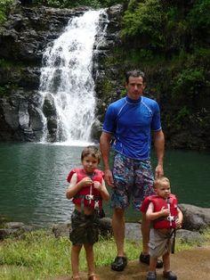 Waimea Valley and Falls - also a nice beach near by