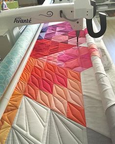 The End is near... it is realy a big quilt ... Das Ende ist nah... Dieser Quilt…