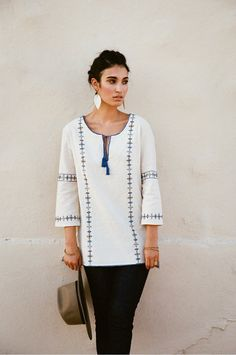 Shah Embroidered Tunic
