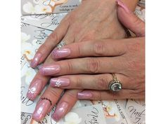 Pretty in Pink. Nails by Anthony French Manicures, Top Nail, Nail Tech, Pink Nails, Pretty In Pink, Beauty, Pink Nail, French Nails, Beauty Illustration