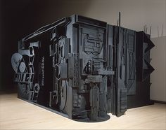 Bringing Art Home: Louise Nevelson Shadow Boxes – Design . Louise Nevelson, Outdoor Sculpture, Modern Sculpture, Sculpture Art, Cardboard Sculpture, Wooden Sculptures, Cardboard Art, Whitney Museum, Assemblage Art
